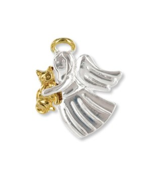 Cat Lover Angel Pin 4PC