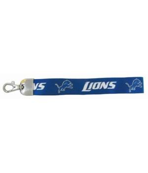 WRISTLET LANYARD - DET LIONS