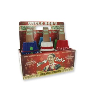 Knitted Ugly Bottle Sweaters 24PC