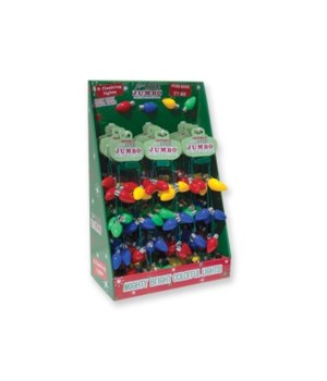 X-mas Light-Up Necklace w/ DISPLAY