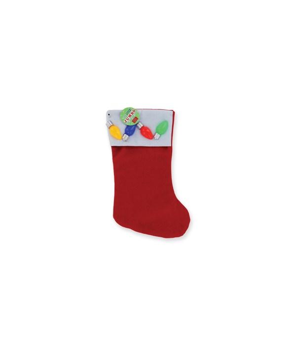 Flashing Holiday Stocking 24PC