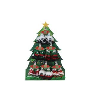 Jolly Holly Elfin Earrings 24PC