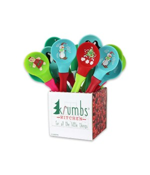 Holiday Silicone Spoons 24PC