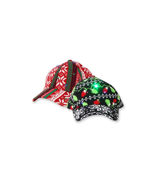 Ugly Light-Up Knitted Ball Cap 12PC