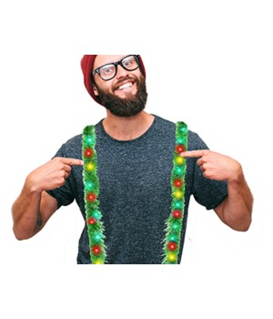 Tacky Tinsel Suspenders 12PC