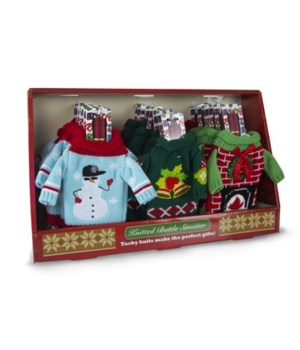 Wine sweaters-24 pc dsp