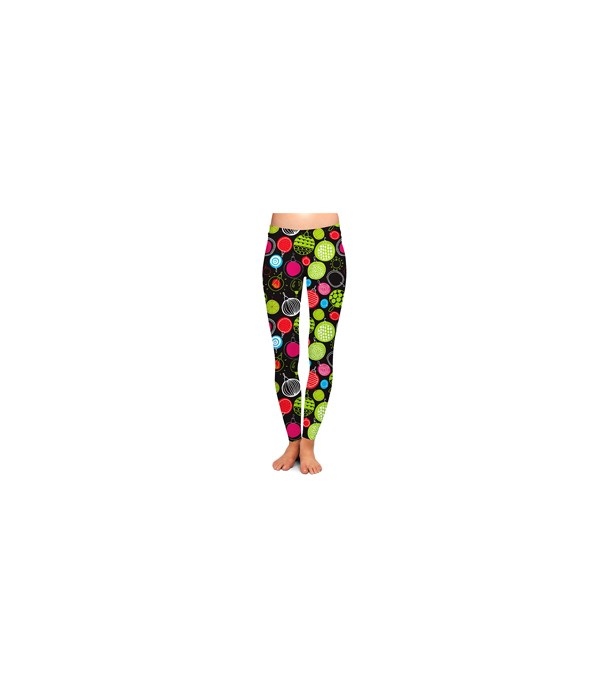 S/M Decked Out Christmas Leggings 3PC