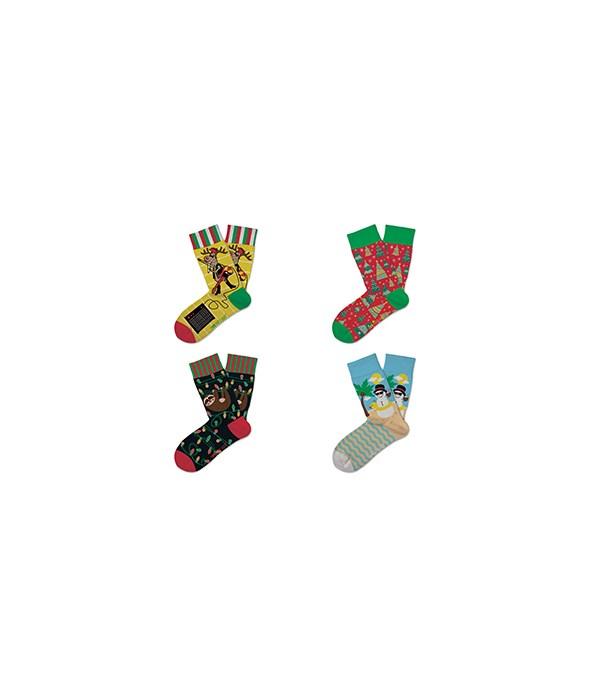 Kids Christmas Socks 36PC
