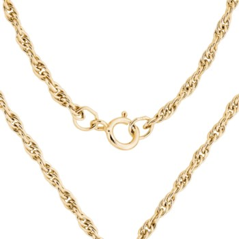 """24"""" Gold Filled Heavy Rope Chain"""