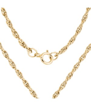 "24"" Gold Filled Heavy Rope Chain"
