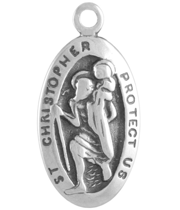 SMALL ST. CHRISTOPHER MEDAL