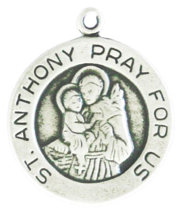 ROUND ST ANTHONY PRAY FOR US