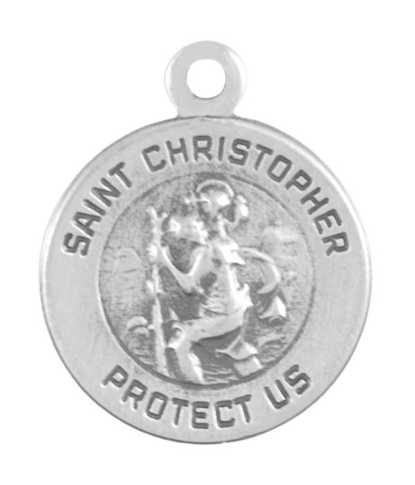 SMALL ST CHRISTOPHER PROTECT US
