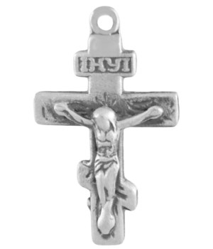 SMALL SATIN FINISH CRUCIFIX