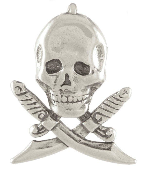 SKULL WITH CROSSED SWORDS