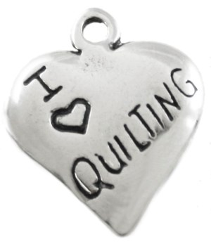 I LOVE QUILTING HEART