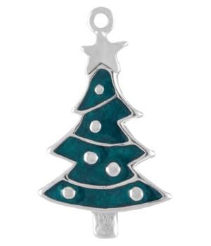 ENAMEL CHRISTMAS TREE