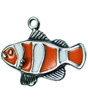 ENAMEL CLOWN FISH