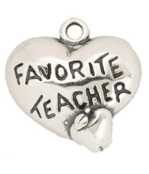 FAVORITE TEACHER HEART