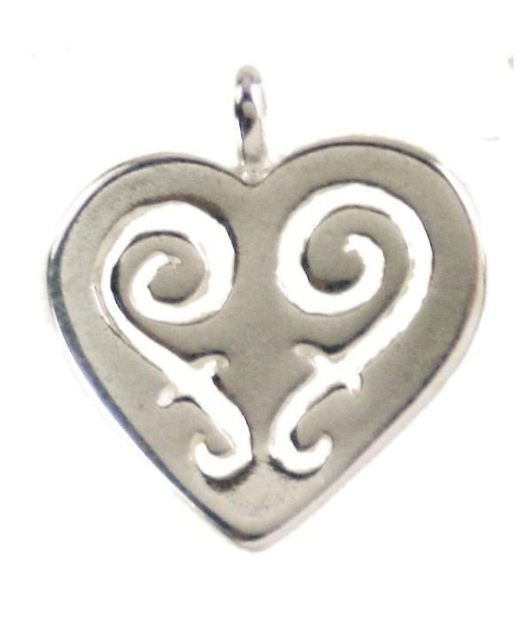 SWIRL DESIGN HEART