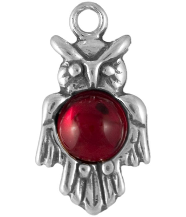 RED CRYSTAL OWL