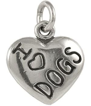 I LOVE DOGS HEART