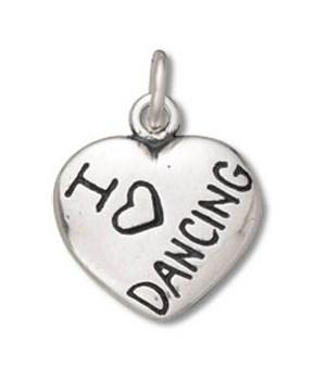 I LOVE DANCING HEART