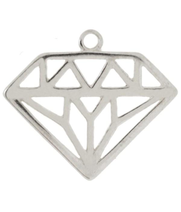 MEDIUM DIAMOND WITHCUT OUTS CHAR
