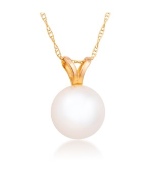 6mm pearl 14KY pendant