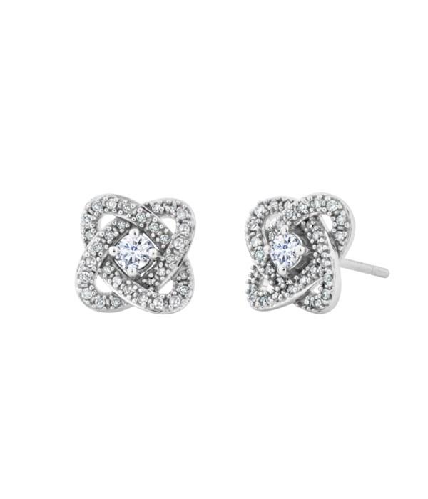 1/3 CTTW  DIA Simply U Earrings