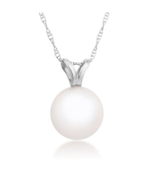 6mm pearl 14KW pendant