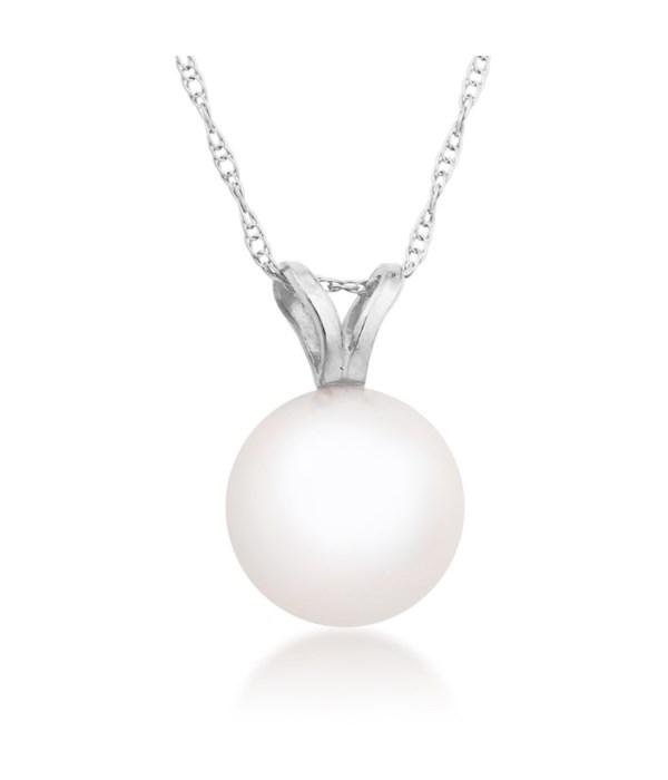 7mm pearl 14KW pendant