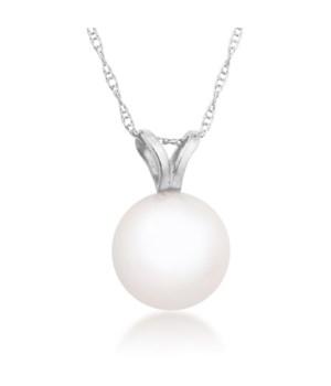 8mm pearl 14KW pendant