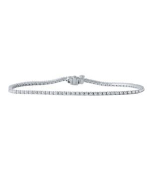 """1 CTTW 7.5"""" Line Bracelet"""