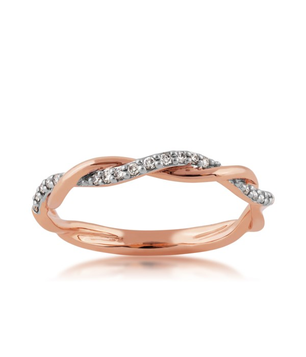 1/10 CTTW  Pink Gold Stackable