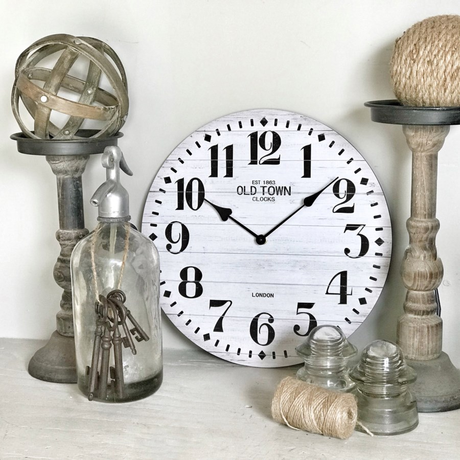 """13"""" Old Town Wall Clock"""