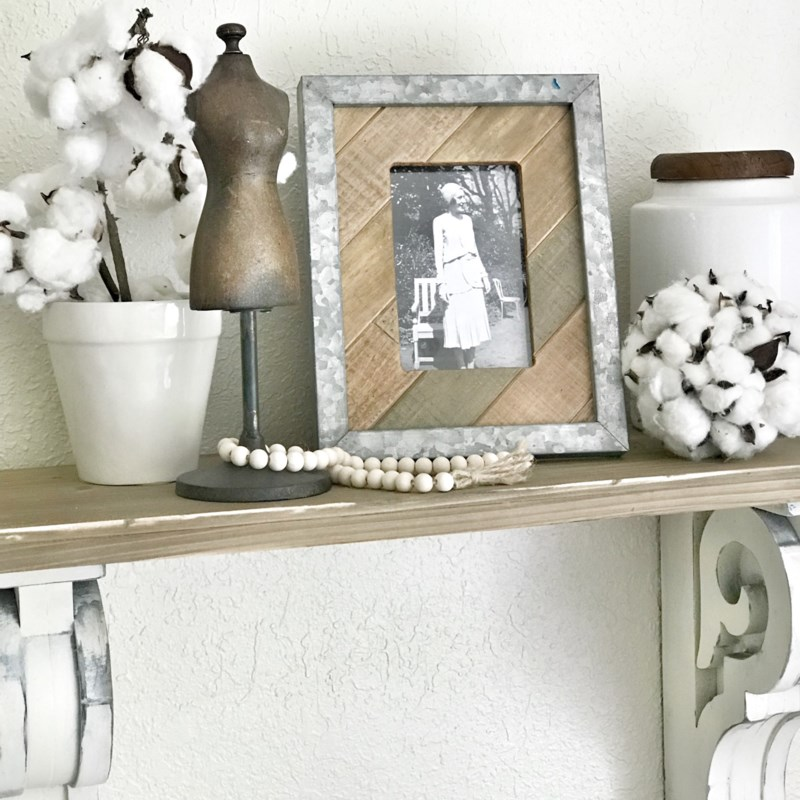 Galvainzed Framed Picture Frame 4x6