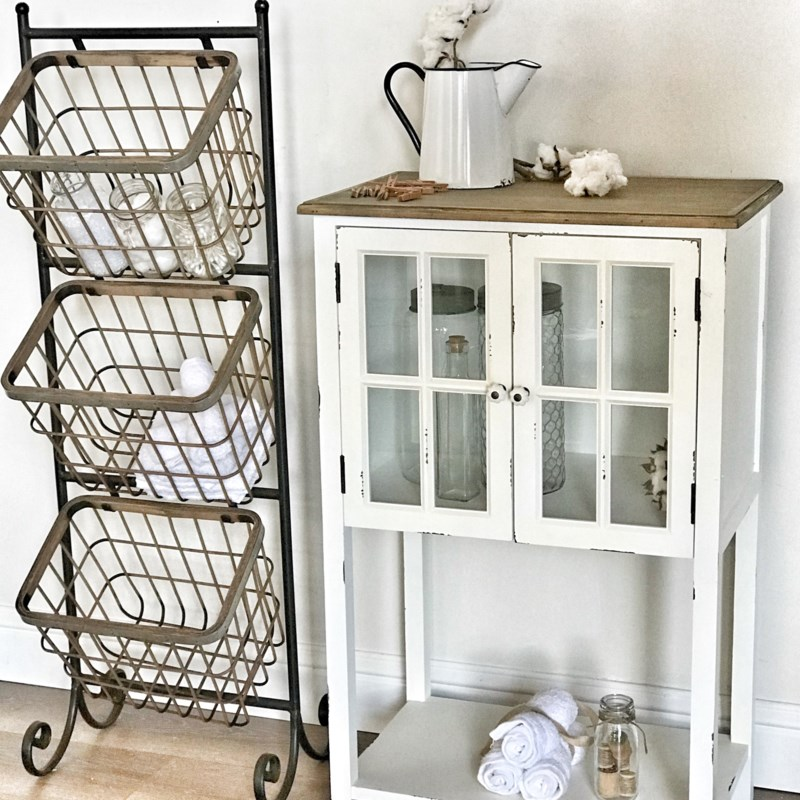 Baskets On A Stand