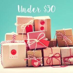 Shop Gifts Under $30