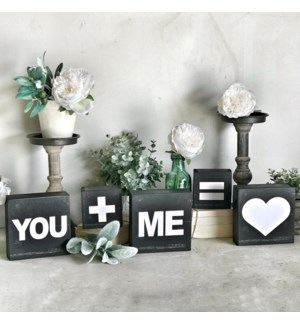 You + Me Block Set