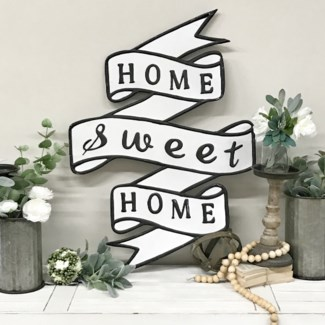 Home Sweet Home Banner Sign