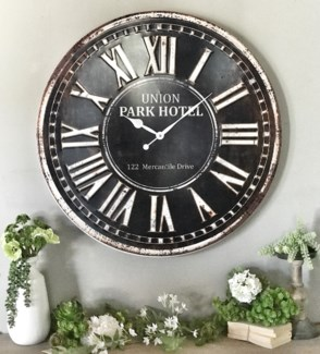 """Union Park Large Clock 32"""""""