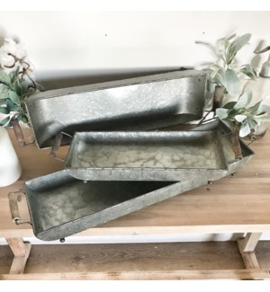 Long Trays Set Of 3