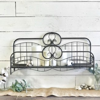 Metal Bed Frame Decor