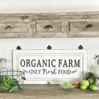 Organic Farm SIgn