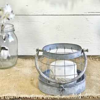 Cage Candle Holder Small