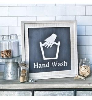 Hang Wash Laundry Sign