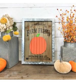 Hand Picked Farm Fresh Pumpkins Sign