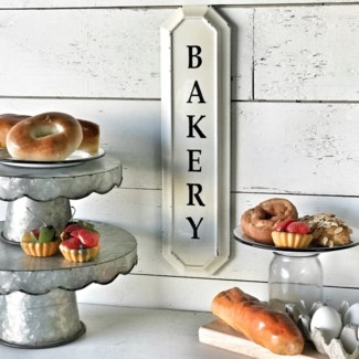 Vertical Small Bakery Sign