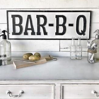 Large BBQ Sign